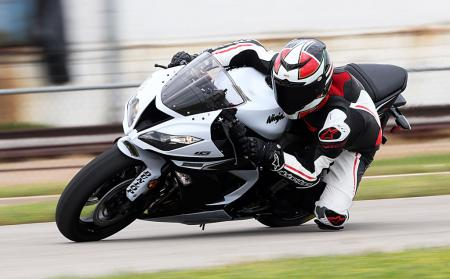 2013 Kawasaki Ninja ZX-6R 636 with Dunlop Q3 tires