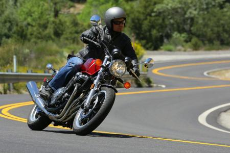 2013 Honda CB1100 Action Cornering