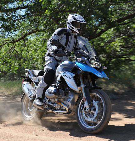 2013 BMW R1200GS Action Off-Road