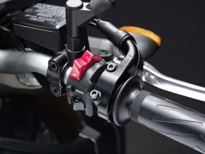 2014 Yamaha FZ-09 right switchgear