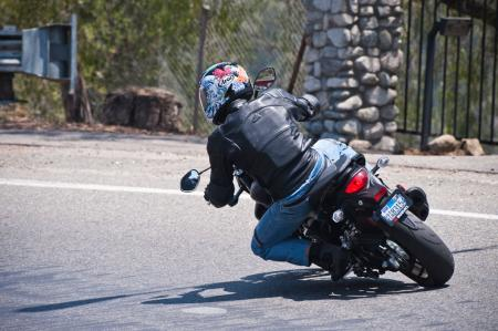 2013 Suzuki SFV650 Action Rear