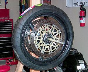 Tire Changing Front Wheel Balance