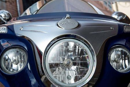 2014-indian-Chieftain Headlight Trim