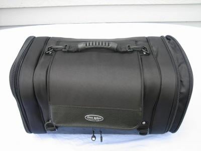 Main Bag with handle attached and extended sides
