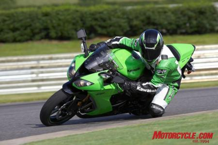 2008 kawasaki zx10r green action3