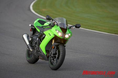 2008 kawasaki zx10r green static