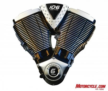 2009 Victory Motorcycles 106 Engine