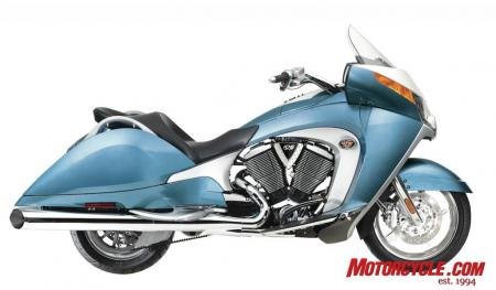 2009 Victory Motorcycles VVisionStreet BlueIce 09 Pr