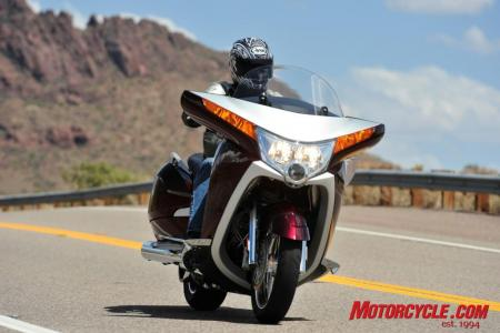 2009 Victory Motorcycles VVisionStreet lifestyle10