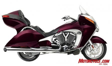 2009 Victory Motorcycles VVisionTour Cherry 09 Pr