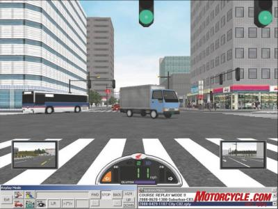 09H SmartRidingTrainer Intersection