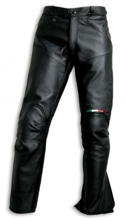 duc pants leather flag