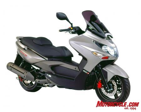 2010 Kymco Xciting 500Ri ABS Studio1