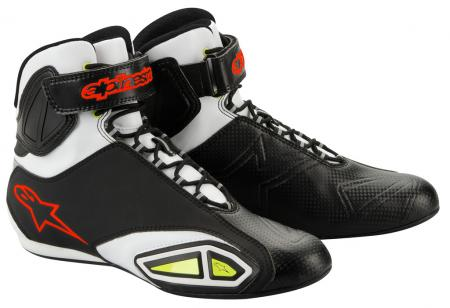 Alpinestars Fast Lane white-black-red