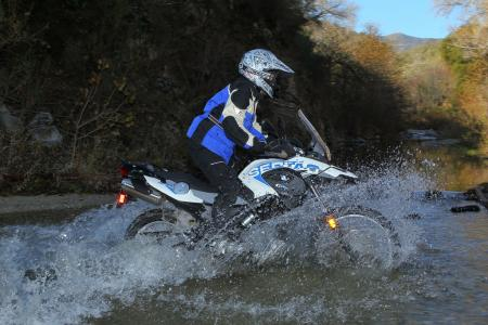 2012 BMW G650GS Sertao water1