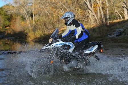 2012 BMW G650GS Sertao water2