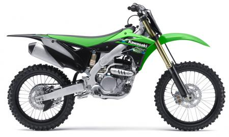 2013 Kawasaki KX250F Profile Right