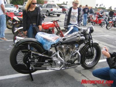 garson el camino el 1939 crocker 250k mc