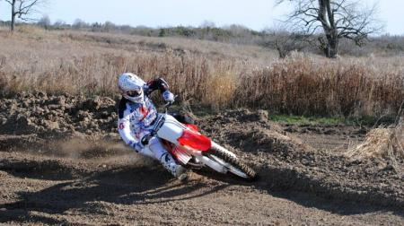 2013 Honda CRF450R Action 01