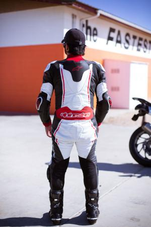 Alpinestars Atem Leathers Back