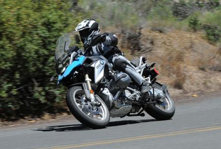 2013 BMW R1200GS Action Left