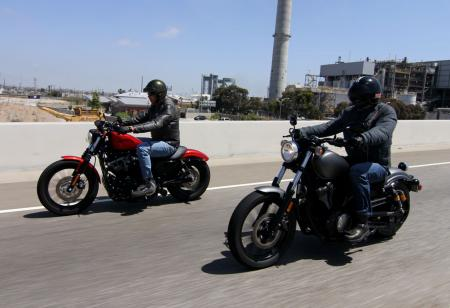 2013 Harley-Davidson Iron 883 vs. Star Bolt IMG_1463