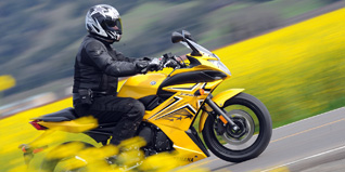 2009 Yamaha FZ6R Review