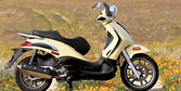 2009 Piaggio BV500 Scooter Review
