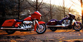 2010 Harley-Davidson Road Glide vs. 2010 Victory Cross Country