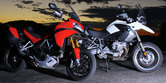 2010 Ducati Multistrada 1200 vs. BMW R1200GS