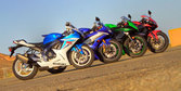2011 Supersport Shootout - Street [Video]
