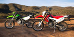 2013 Honda CRF250L vs. 2013 Kawasaki KLX250S - Video