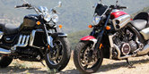 2010 Triumph Rocket III Roadster vs. 2010 Star VMax
