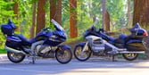 2012 BMW K1600GTL vs. 2012 Honda Gold Wing Shootout [Video]