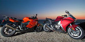 2010 BMW K1300S vs Honda VFR1200F Shootout