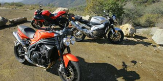 2009 Streetfighters Shootout: Aprilia Tuono 1000 R, Buell 1125CR, Triumph Speed Triple