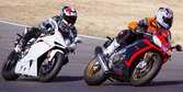 2012 Aprilia RSV4 Factory APRC vs. 2012 MV Agusta F4RR Corsacorta - Video