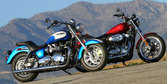 2012 Harley-Davidson Sportster SuperLow vs. Triumph America [Video]