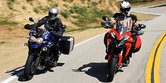 2013 Ducati Multistrada 1200 S Touring vs. 2013 Triumph Explorer - Video