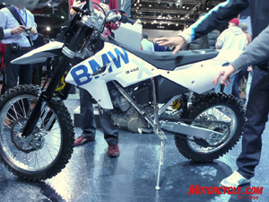 BMW is hitting the hardcore enduro market with its innovative 450cc machine.