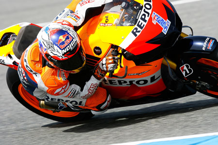 Casey Stoner was simply dominent in pre-season testing, making him the favorite for the 2012 MotoGP World Championship.
