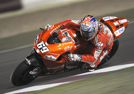 With Nicky Hayden on board, Ducati Marlboro has two of the last three MotoGP Champions on its roster.