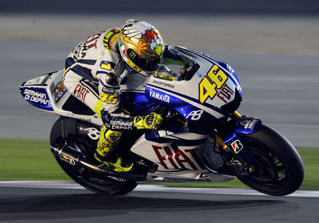 Valentino Rossi remains the man to beat in 2010.