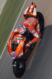 Casey Stoner continues his dominance of Doha.