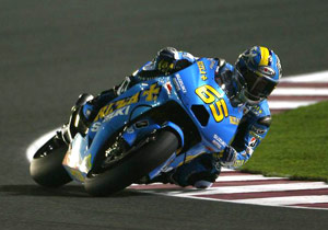 Chris Vermeulen fared much better than teammate Loris Capirossi who crashed out. Wonder how Suzuki would do if they had a talented three-time AMA Champ ...