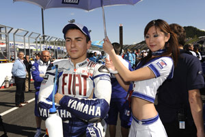 Jorge Lorenzo seemed extra motivated before the race.