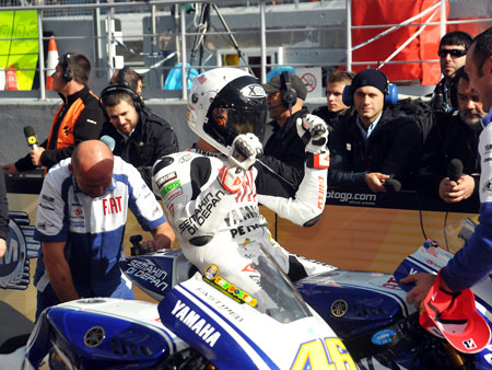 Jorge Lorenzo Estoril 2010