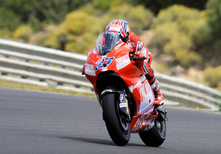 Casey Stoner's third place result in 2009 is the only podium he has ever achieved in Jerez, in any GP class.