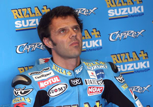 Loris Capirossi is looking for answers in Jerez.