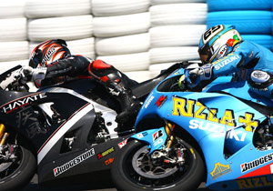 Marco Melandri and Loris Capirossi were surprisingly competitive in Jerez.
